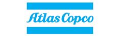 Logo Atlas Copco : compresseurs - groupes électrogènes